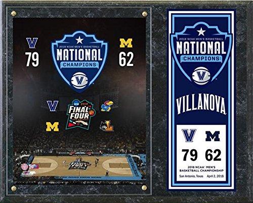 Villanova Wildcats 2018 NCAA Basketball Championship Photo Plaque (Size: 12