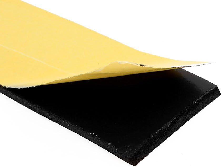 sourcingmap Cinta Adhesiva Cara Sola de Sellado de Espuma Eva 5 Metros 15mm X 2mm