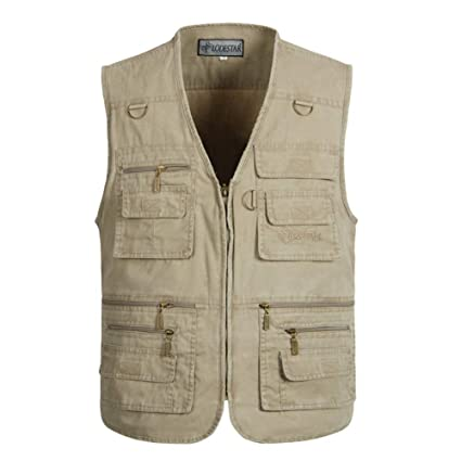 dernière collection magasin photos officielles RYC Veste en Plein Air Maillot Gilet sans Manches Homme ...