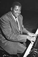 Oscar Peterson iconic Jazz great Playing Piano 24x36 Poster