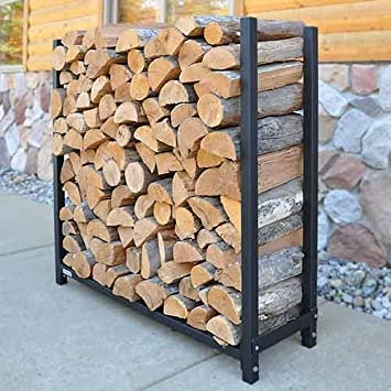 Amazon.com : The Forever Firewood Rack | 1/2 Face Cord Expandable ...