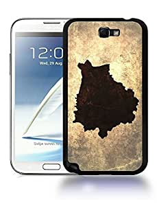 Belarus National Vintage Country Landscape Atlas Map Phone Case Cover Designs for Samsung Galaxy Note 2 Kimberly Kurzendoerfer
