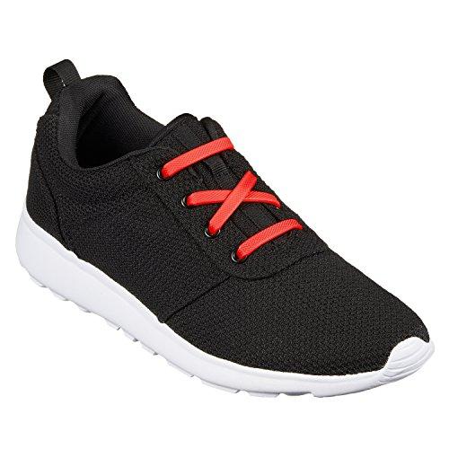 Chaussures Et Vecchiano Baskets Ficc Rot Sport De Pour Tie No Lacets Laces Adultes Élastiques Enfants Loisirs Shoe Premium plat Di USBx4