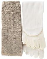 くらしきぬ 冷えとり靴下 4足セット【日本製】シルクとウールの重ねばきソックス