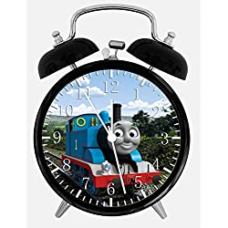 Thomas Train Alarm Desk Clock 3.75 Home or Office Decor E140 Nice For Gift