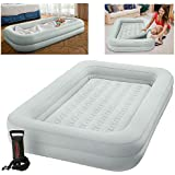 Intex Kidz Travel Cot Bed Inflatable Mattress Air Bed with Pump #66810