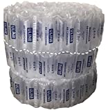 Uline Industrial Air Pillows (100 Count) Pre-filled by Blubonic Industries, 8 x 4 in (7 x 4 inflated), 12 gal, 1.8 cu ft, Shipping Packing Package Cushioning
