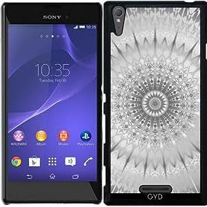 Funda para Sony Xperia T3 - Mandala Geométrica Plata by Nina Baydur