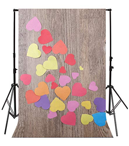 Clipart Heart Shape - Leyiyi 6.5x10ft Photography Background Wedding Ceremony Backdrop Saint Valentine's Day Rustic Wooden Board Western Cowboy Heart Shape Sticker Clip Art Bridal Shower Photo Portrait Vinyl Studio Prop