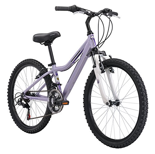 Diamondback Bicycles 2015 Lustre 24 Complete Hard Tail Mountain Bike, 24-Inch Wheels/One Size, Purple Top Deals