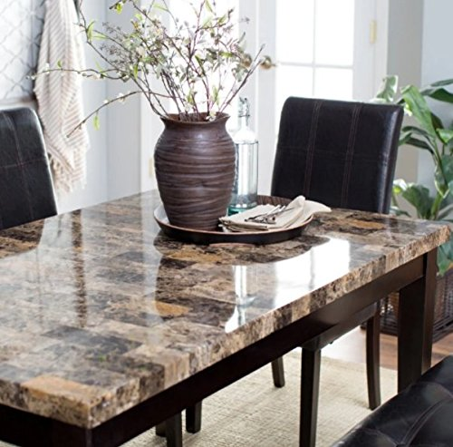 Small Kitchen Table Sets, Dining Table Set For 6, Marble Top Dining Table Set