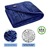 Pine & River Ultra Plush Weighted Blanket - | Minky Warm Luxury - (60