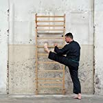 CCLIFE-Anelli-Ginnastica-di-Legno-con-Cinghie-Fibbie-Regolabili-Attrezzo-Sport-Professionale-Ideale-per-Il-Muscolo-Up-Pull-Up-Training-Muscolare