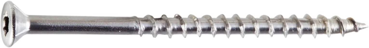 350 per Box Simpson Strong Tie T08200WPP Deck-Drive/DWP #8 2 316 Stainless Steel T20 Flat Wood Screw