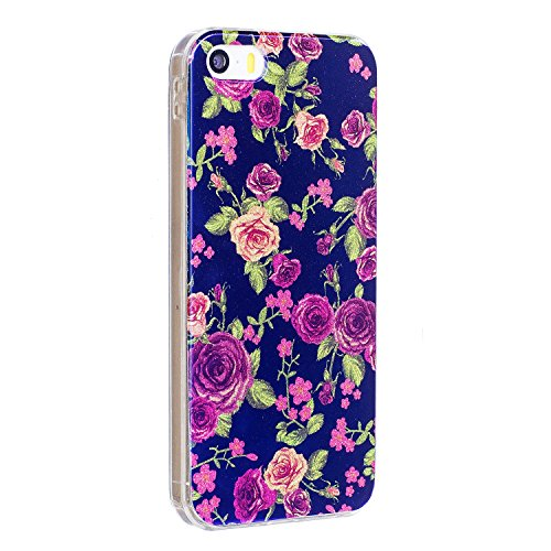 JIALUN-carcasa de telefono Para Apple IPhone 6 y 6s caso, la impresión de la moda de la espalda cubierta de la caja del teléfono móvil ( Color : E ) D