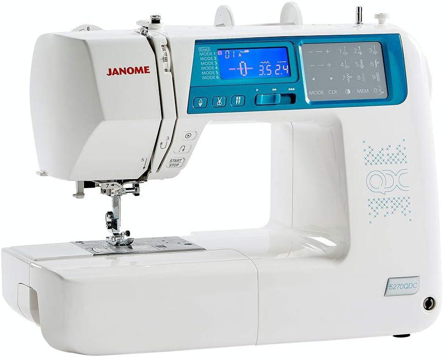 Janome 5270QDC Sewing Machine: Amazon.co.uk: Kitchen & Home