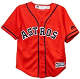 Majestic Athletic Houston Astros Alternate Orange Cool Base Toddler Jersey
