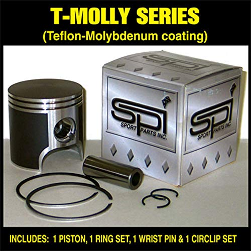 Piston Doo Ski - T-Moly Series Piston Kit - 1.00mm Oversize to 77.00mm 1996 Ski-Doo Summit 583 Snowmobile