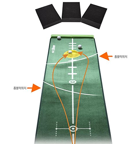 Best Music Posters Track Putting Mat Edition 300cm 50cm GOLF putting green Realistic Silicone Putting-Cup