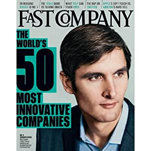 Audible Fast Company, March 2014 Periodical
