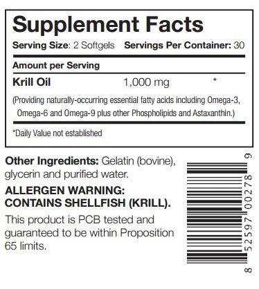 Captains Krill Oil: 100% Pure Flash Frigid Pressed Southern Antarctic Krill Oil (2) by Captains Krill Oil (Image #2)