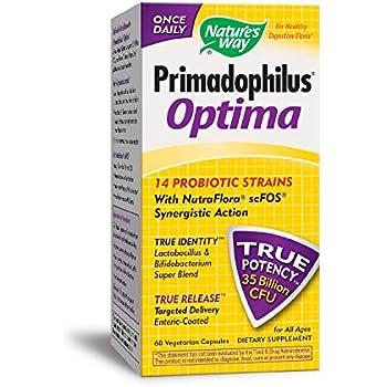 Nature's Way Primadophilus Optima, 60 Vcaps