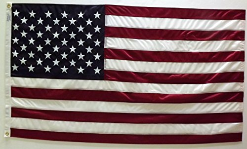 WindMaster USA American Flag Long Lasting Tricot Hercules Polyester Flag 3 x 5 Foot