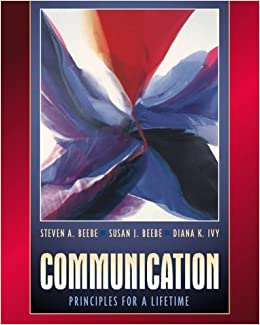 Communication: Principles for a Lifetime (with Interactive Companion PIN) by Steven A. Beebe (2000-09-29)