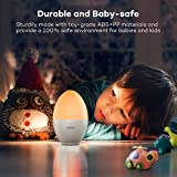VAVA Night Lights for Kids, LED Nursery Lamp with Free Stickers, Safe ABS+PP, Adjustable Brightness Warm White/Cool White, 80 Hours Runtime