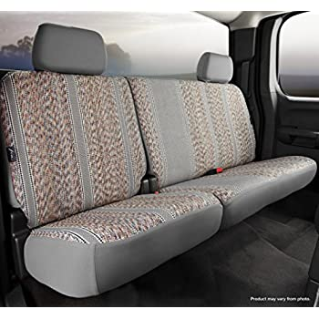 Charcoal FIA OE32-75 CHARC Custom Fit Rear Seat Cover Split Seat 40//60 Tweed