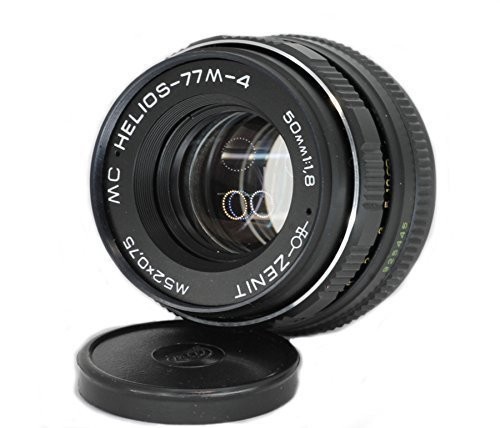 Helios 77M-4 50mm F1.8 Russian Vintage Lens for Canon ()