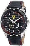Ferrari Men's 0830099 Analog Display Japanese Quartz Black Watch