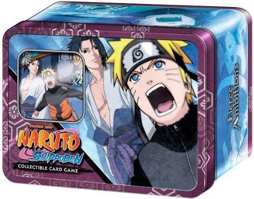 Cards Naruto Promo - Naruto Shippuden Card Game Fierce Ambitions Collector Tin Set Naruto Vs. Sasuke Includes Promo Card