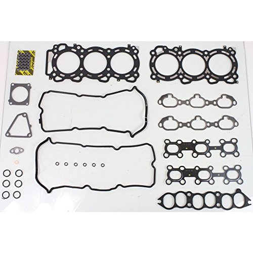 Evan-Fischer EVA12372046023 Cylinder Head Gasket Set for Nissan Maxima 95-99 Multi-Layered Steel VQ30DE (Nissan Cylinder Gaskets)
