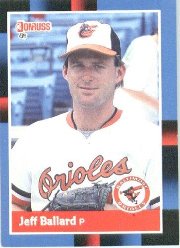 Amazoncom 1988 Donruss Baseball Card 520 Jeff Ballard