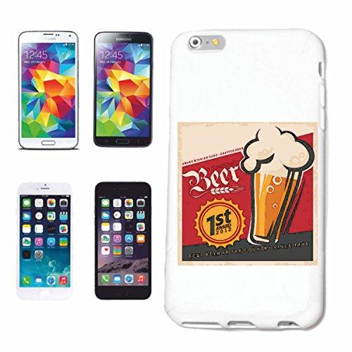 "cas de téléphone iPhone 7 ""BEER Weizenbier CHAMPIGNONS PARTY MALLE BACHELOR ADIEU BEER VODKA BRANDY ALCOOL VIN Vin blanc LIQUEUR"" Hard Case Cover Téléphone Covers Smart Cover pour Apple iPhone en blan"