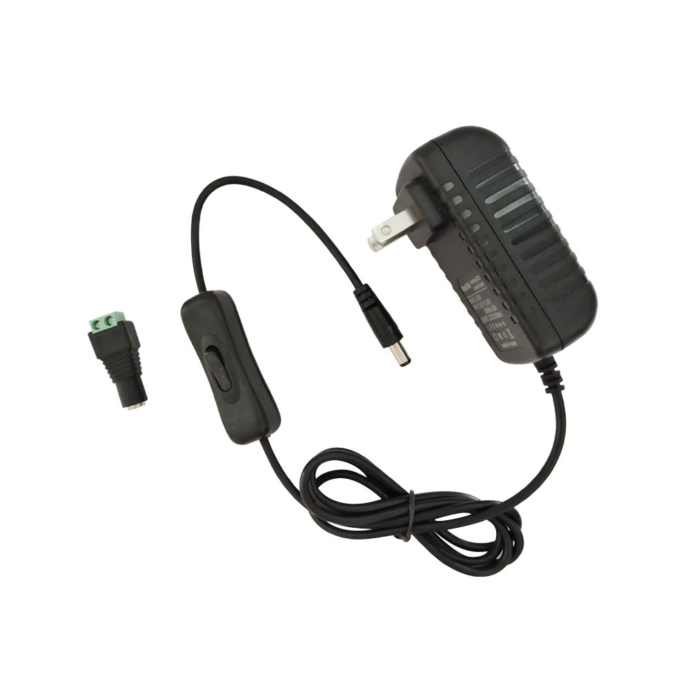 AspenTek Led Power Supply Adapter with Inline on