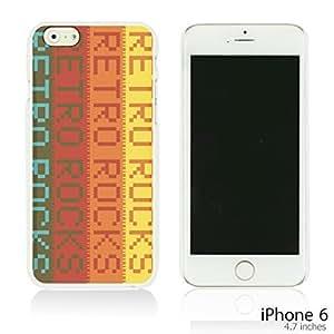 OnlineBestDigital - Typography Pattern Hard Back Case for HTC One M8 Smartphone - Retro Rocks