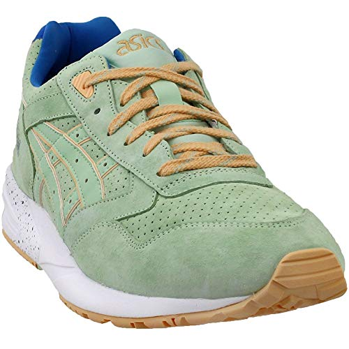 - ASICS Men's Gelsaga Smoke Green/Low Top Tennis Shoe - 11M