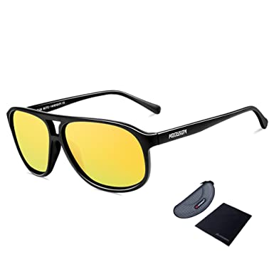uv protection and polarized sunglasses  Amazon.com: HODGSON Polarized Sunglasses, Aviator Sunglasses 100 ...