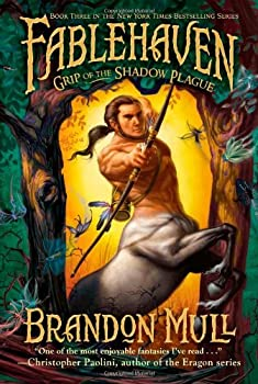 Grip of the Shadow Plague 1416986030 Book Cover