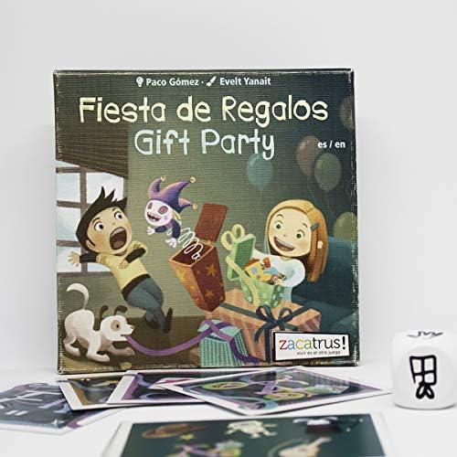 Zacatrus!- Fiesta de Regalos Juego de Mesa, Multicolor, única (ZAC028): Amazon.es: Juguetes y juegos