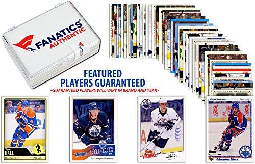 Edmonton Oilers Team Trading Card Block/50 Card Lot - Hockey Team Sets ()