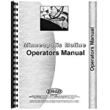 New Operator's Manual Made For Minneapolis Moline AF 2-3 Bottom Plow (S-219)