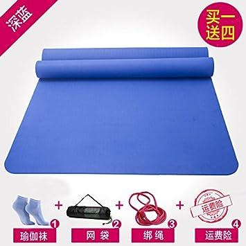 YOOMAT King-Size Mat Doble Yoga TPE Grueso Ancho extendido M ...