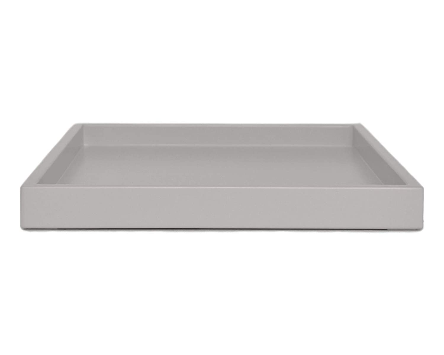 - Amazon.com: Gray Coffee Table Ottoman Serving Tray Without Handles