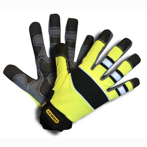 Stanley S77534 Prodex High Dexterity High-Vis Lime Glove,...