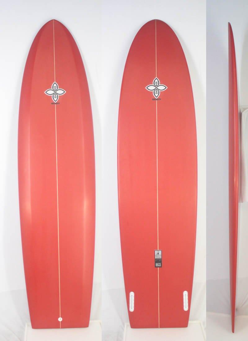 INFINITY (インフィニティー) TOMBSTONEモデル サーフボード [RED] 7'8