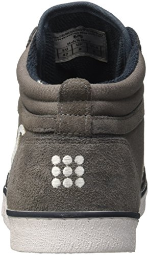 Gray Blue Grigio Classic Uomo Sneaker a Boston DrunknMunky Collo Alto xnOWq8zn7w