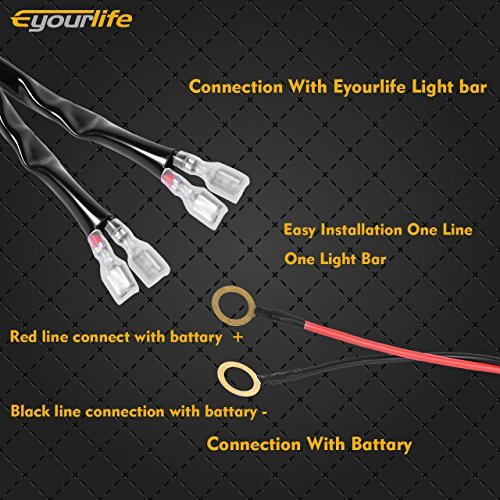 off-road light bars, lag bolting down light bars, lihgt and police lights bars, on eyourlife light bar wiring harness